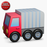 3d model construction icons 41 truck