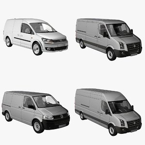 3ds max vans 2011 crafter caddy