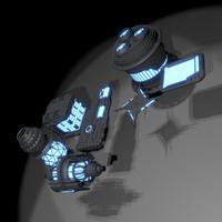 gadget scifi sci 3d obj
