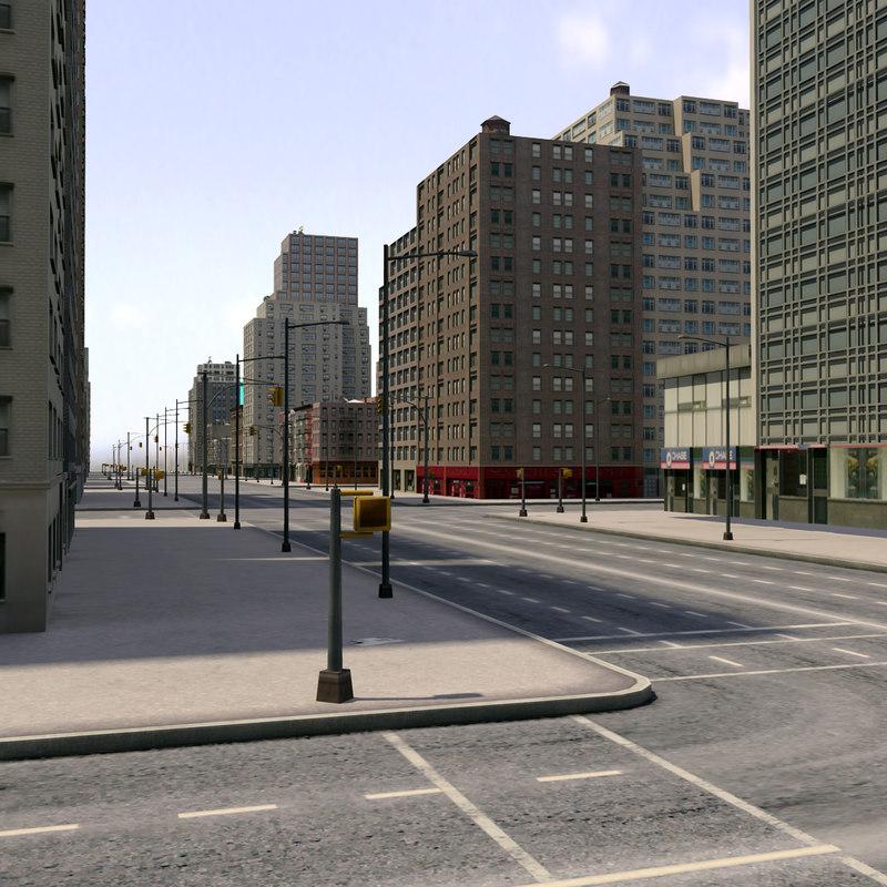 3d city new york model