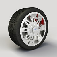 Wheel MotoMetal 950 rim and tyre