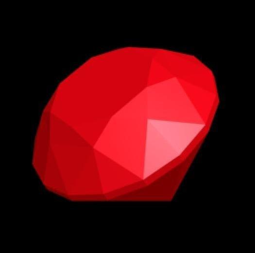 3d ruby gem model