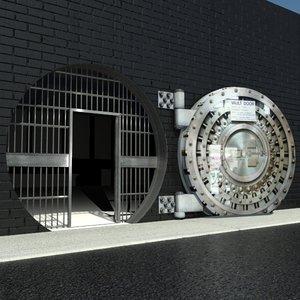 max bank vault door