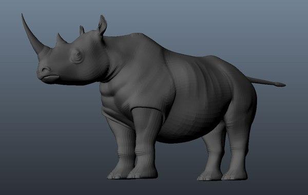 3d model rhino games movies