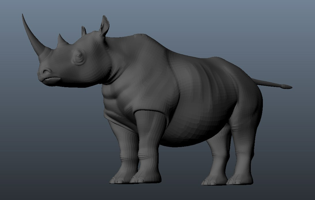 3d model rhino games movies