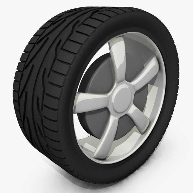 tire fbx