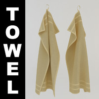 3d hanging towel