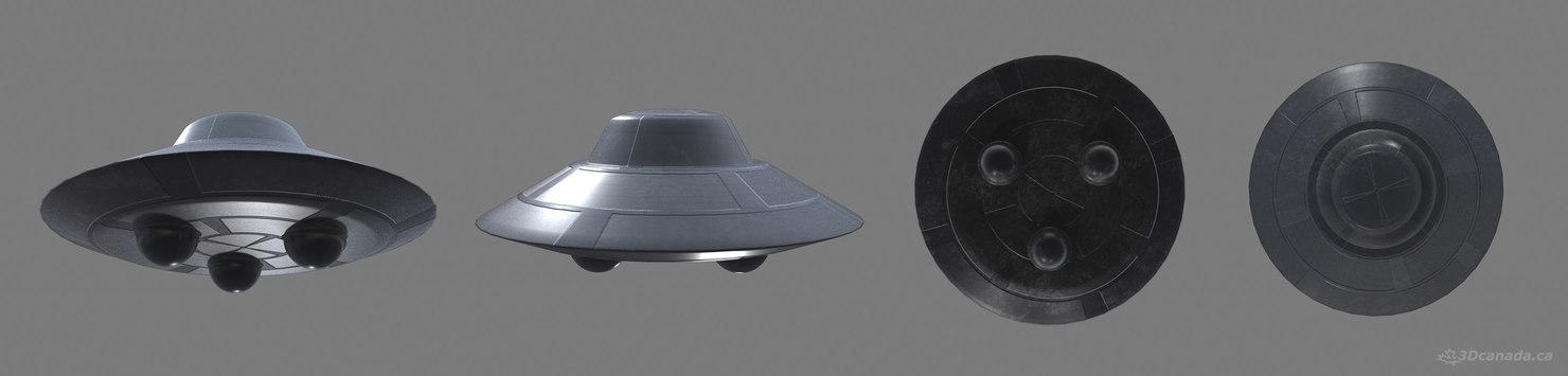 ufo 3d ma