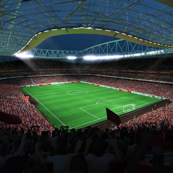 max soccer arena fans animation