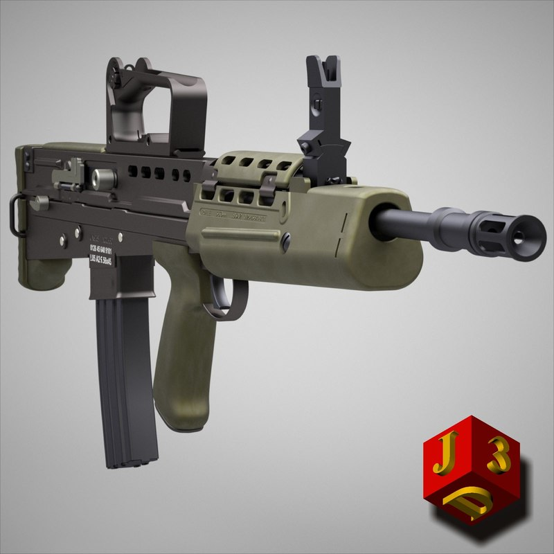 nato rifle assault c4d