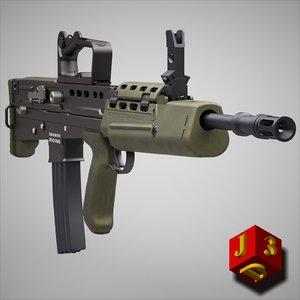 nato rifle assault c4d