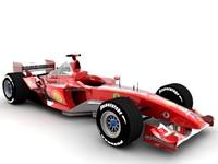 3d racing cars model