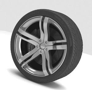 3ds max wheel sport
