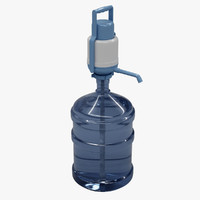 Water Pump With 5 Gallon Bottle