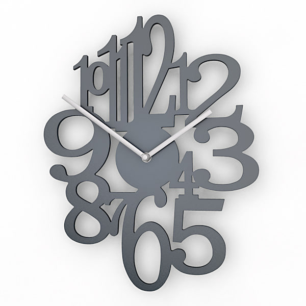 Decorative Wall Clock analog decorative wall clock 3d max