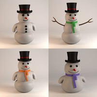 snowman snow man 3ds