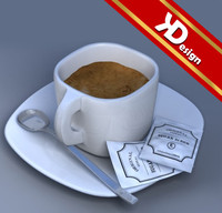 3ds max coffee cup