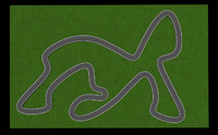 race track 3d obj