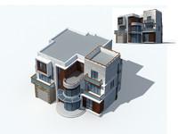 exterior rendering 1 5 3d model