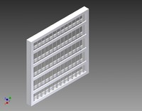 pleated filter 3d 3ds