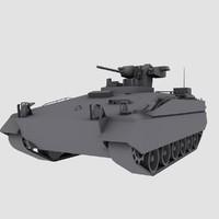 Marder 1A5 German Army APC game model