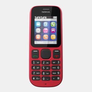 nokia 101 mobile phone max