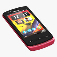 Nokia 500 Red