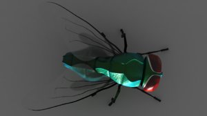 3ds max house fly