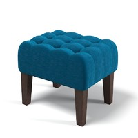 Pouf Banquette Tufted classic Traditional Modern