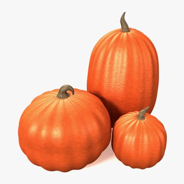 3d 3ds pumpkins
