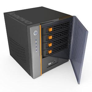 3d model server lenovo d400