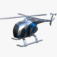 toy helicopter v4 3d max