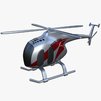 toy helicopter v5 3d max