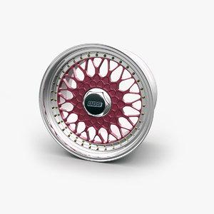 obj bbs rs car wheel