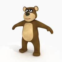max cartoon bear rig