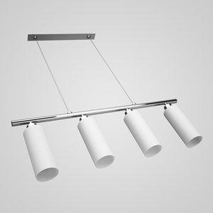max four-bulb ceiling lamp 11