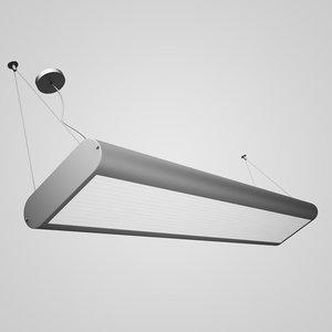 3d ceiling office lamp 36