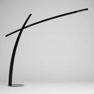 3d modern floor lamp 48