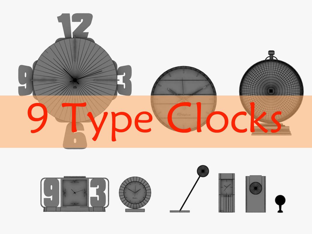 clock 9 3ds