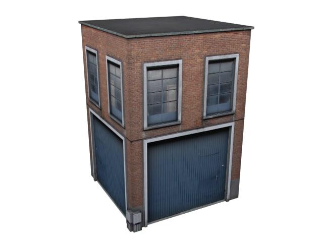 3d max industrial building