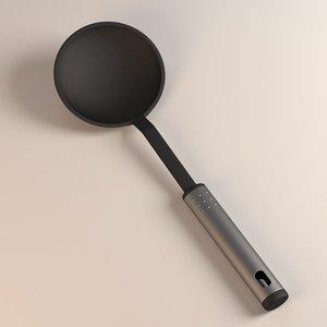 3d kitchen utensil