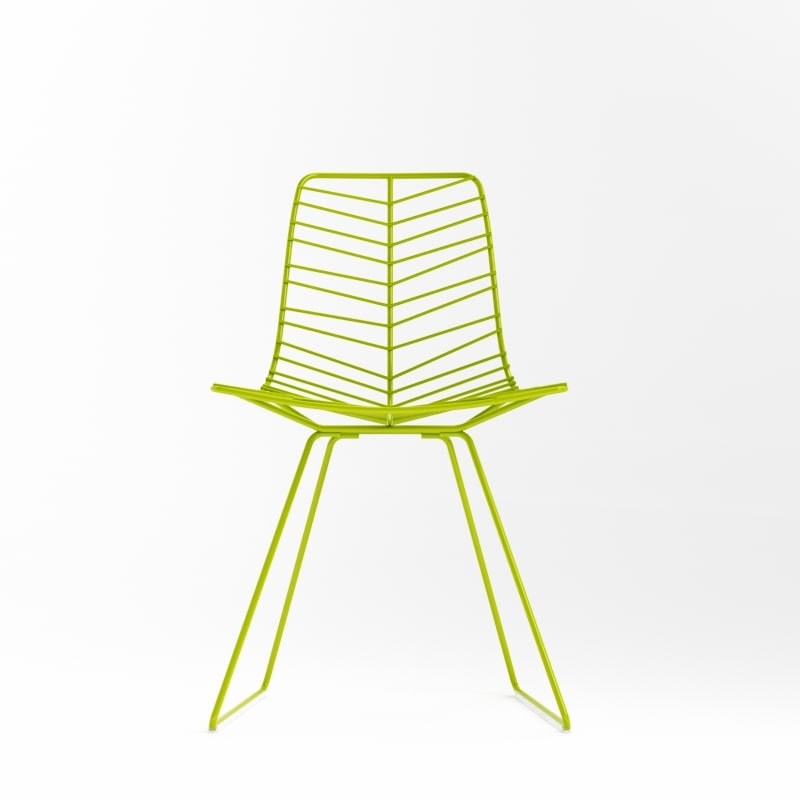 3d model leaf chair arper