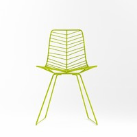 3d model leaf chair arper