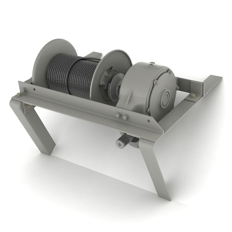 max mechanical winch