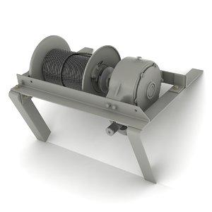 max mechanical winch