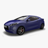 car motors coupe segment 3d 3ds