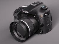 Sony Alpha 77 photo camera