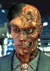 3d model of dark face