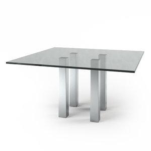 3d model e grande table