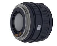 3d model 50mm camera lens